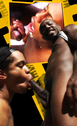 Hundreds of DVD quality gay movies of black stallions getting it on as only hot, hung brothas know how!